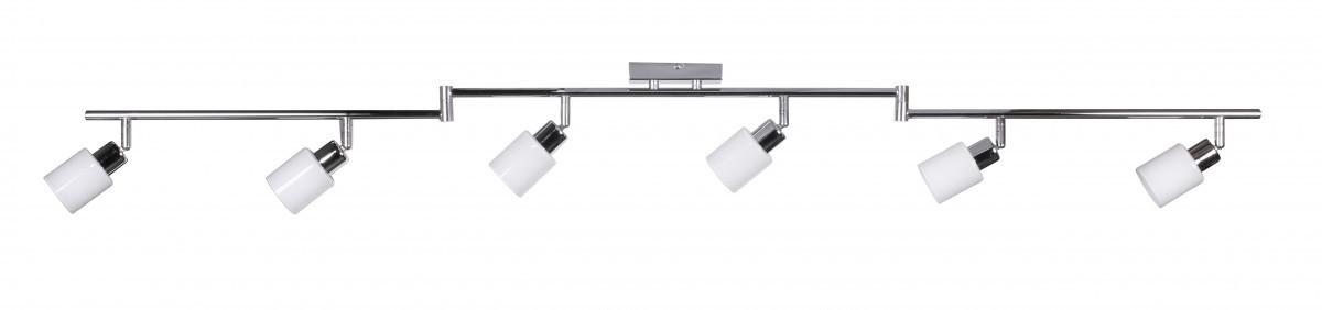 finebuy 6 flammig led deckenleuchte lampe strahler spot. Black Bedroom Furniture Sets. Home Design Ideas