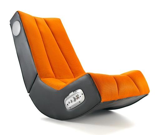 musicrocker cubic gaming sound chair sessel orange kuli ebay. Black Bedroom Furniture Sets. Home Design Ideas