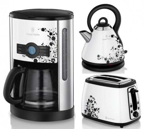 kaffeemaschine wasserkocher toaster set wei neu kuli ebay. Black Bedroom Furniture Sets. Home Design Ideas