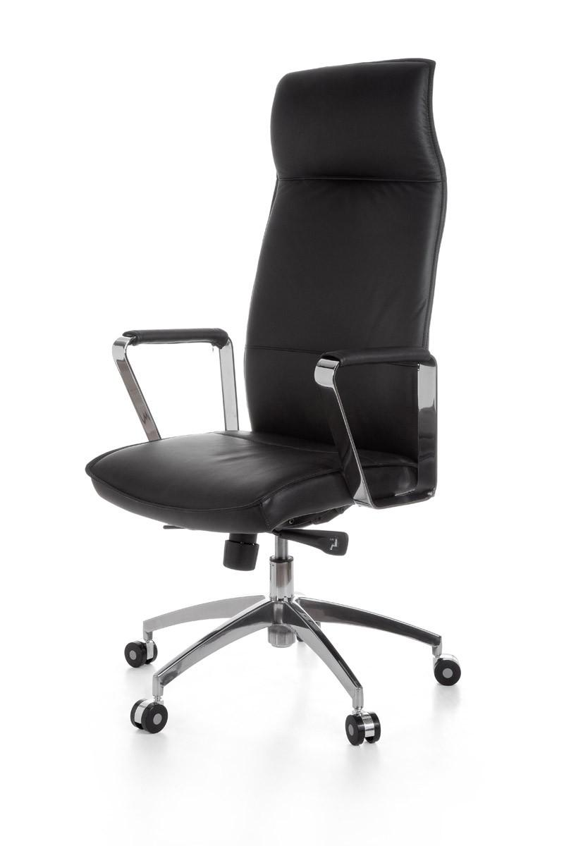 Chambre Bebe Bleu Roi : AMSTYLE XXL Chaise de bureau en cuir président exécutif Vérone noir