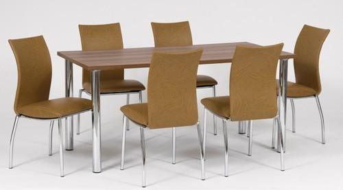 design esstisch k chentisch 120 200 x 80 ausziehbar neu ebay. Black Bedroom Furniture Sets. Home Design Ideas