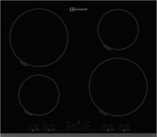 bauknecht eti6646in glaskeramik kochfeld autark induktionskochfeld 60cm neu ebay. Black Bedroom Furniture Sets. Home Design Ideas