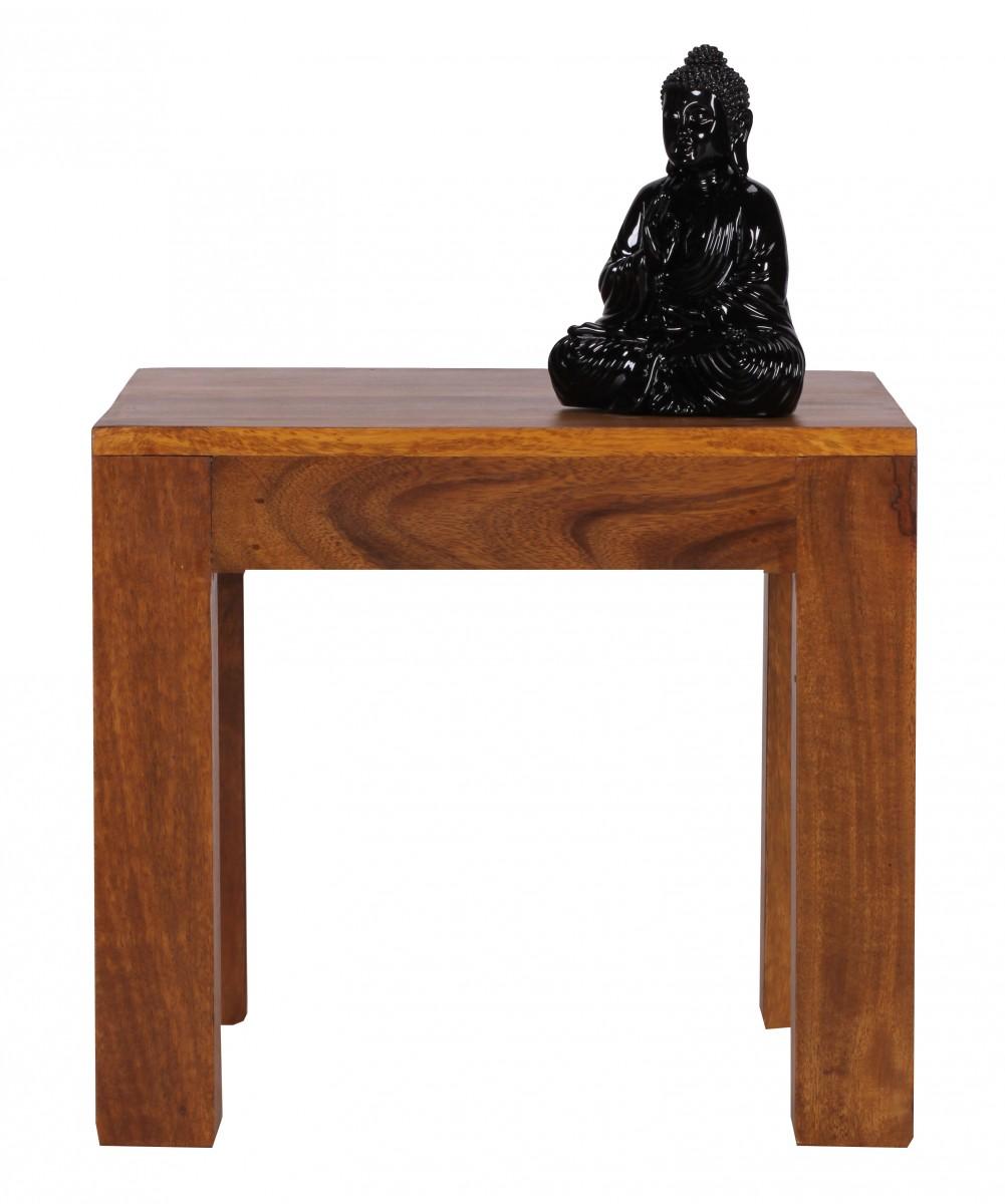 Wohnling petit table basse salon desserte d 39 appoint bois - Desserte bois massif ...