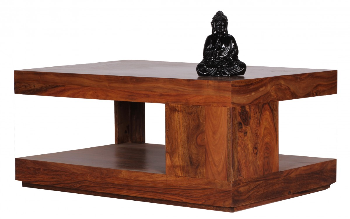 Wohnling Sheesham Solid Wood Coffee Side Table Living Room Furniture 90x60 New Ebay