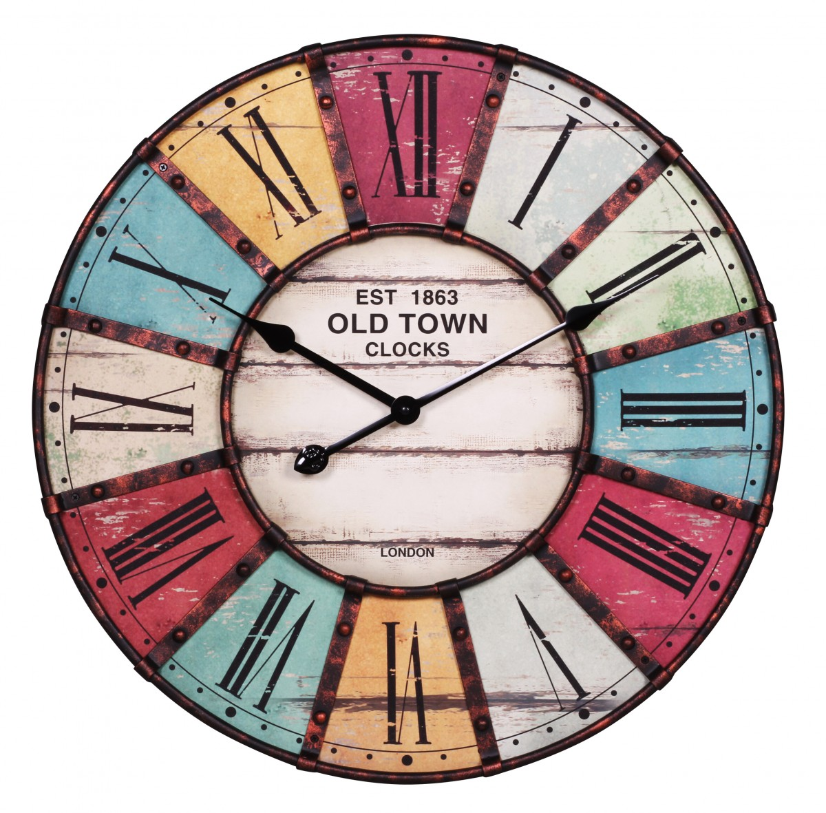 Wall Clock Designs Latest : Wohnling old town cm wall clock design with great