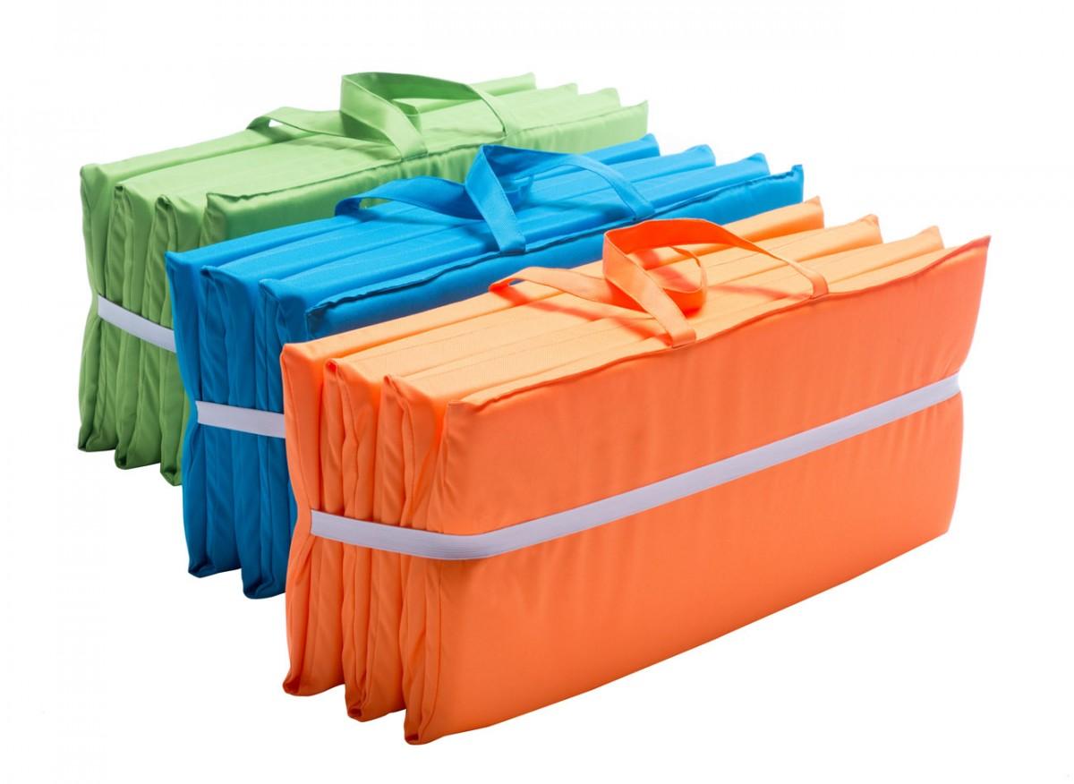 Strandmatte Smari 160 cm gepolstert mit Tragegriff Reise
