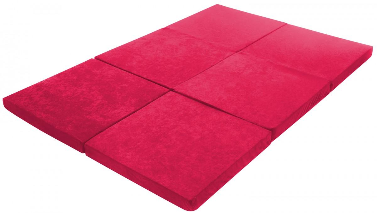 doppel klappmatratze 190 x 126 cm 6 fach faltbar sitzsack. Black Bedroom Furniture Sets. Home Design Ideas