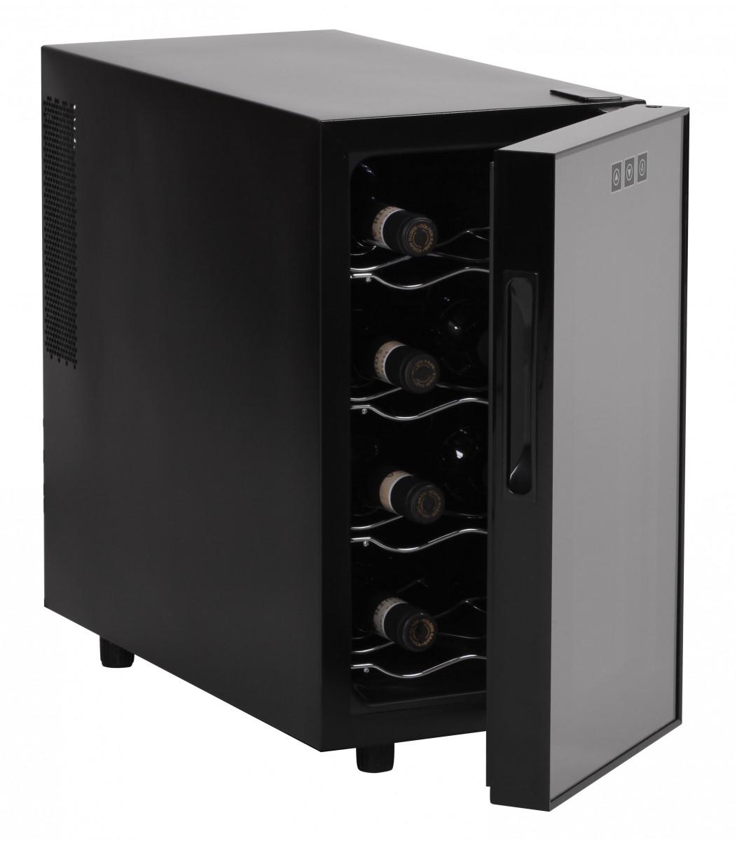 amstyle cave a vin refrigeree frigo 8 bouteilles mini bar. Black Bedroom Furniture Sets. Home Design Ideas