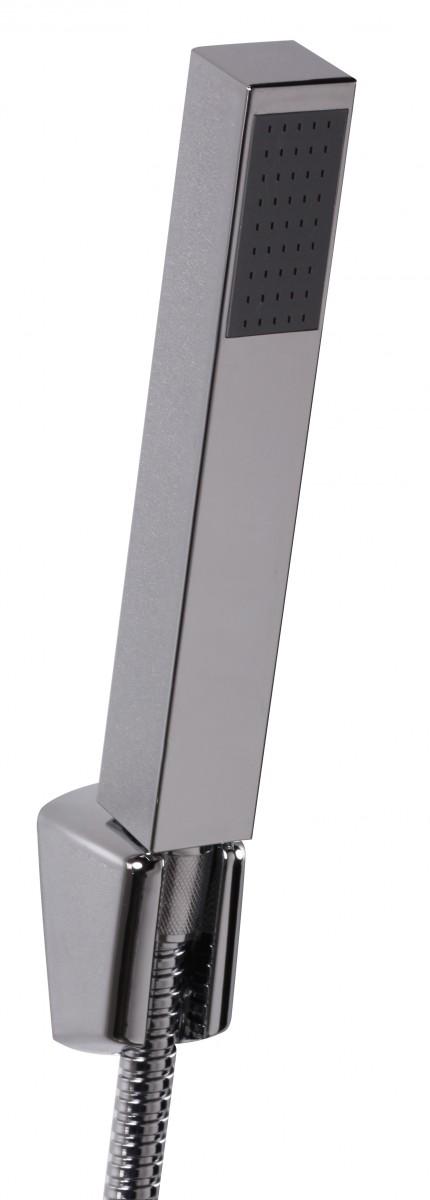 Wohnling pannello doccia in alluminio colonna doccia - Doccia con tubi esterni ...