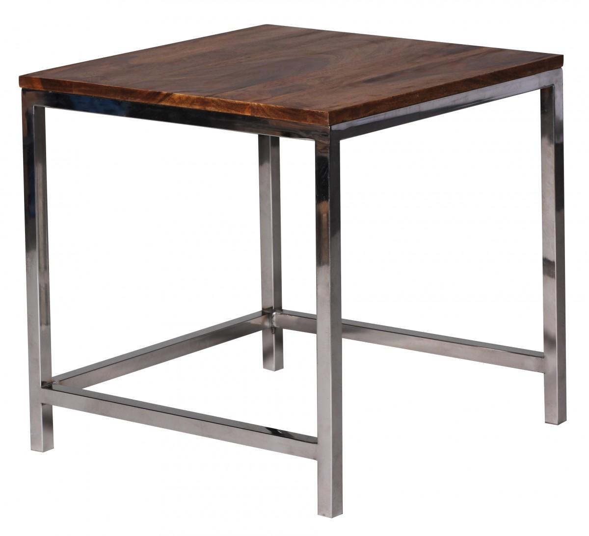 wohnling satztisch massiv holz 45x45 35x35 cm couchtisch wohnzimmertisch neu ebay. Black Bedroom Furniture Sets. Home Design Ideas