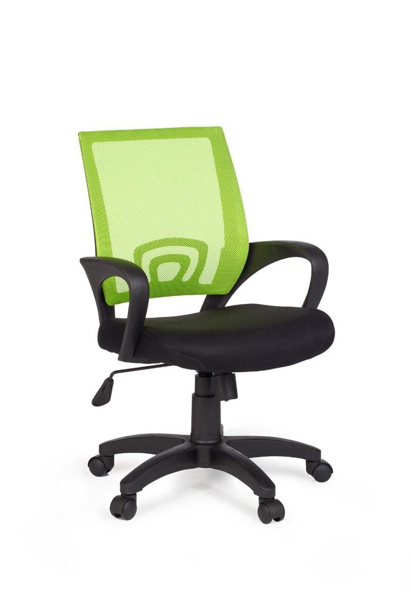 finebuy b rostuhl drehstuhl schreibtischstuhl schwarz gr n. Black Bedroom Furniture Sets. Home Design Ideas