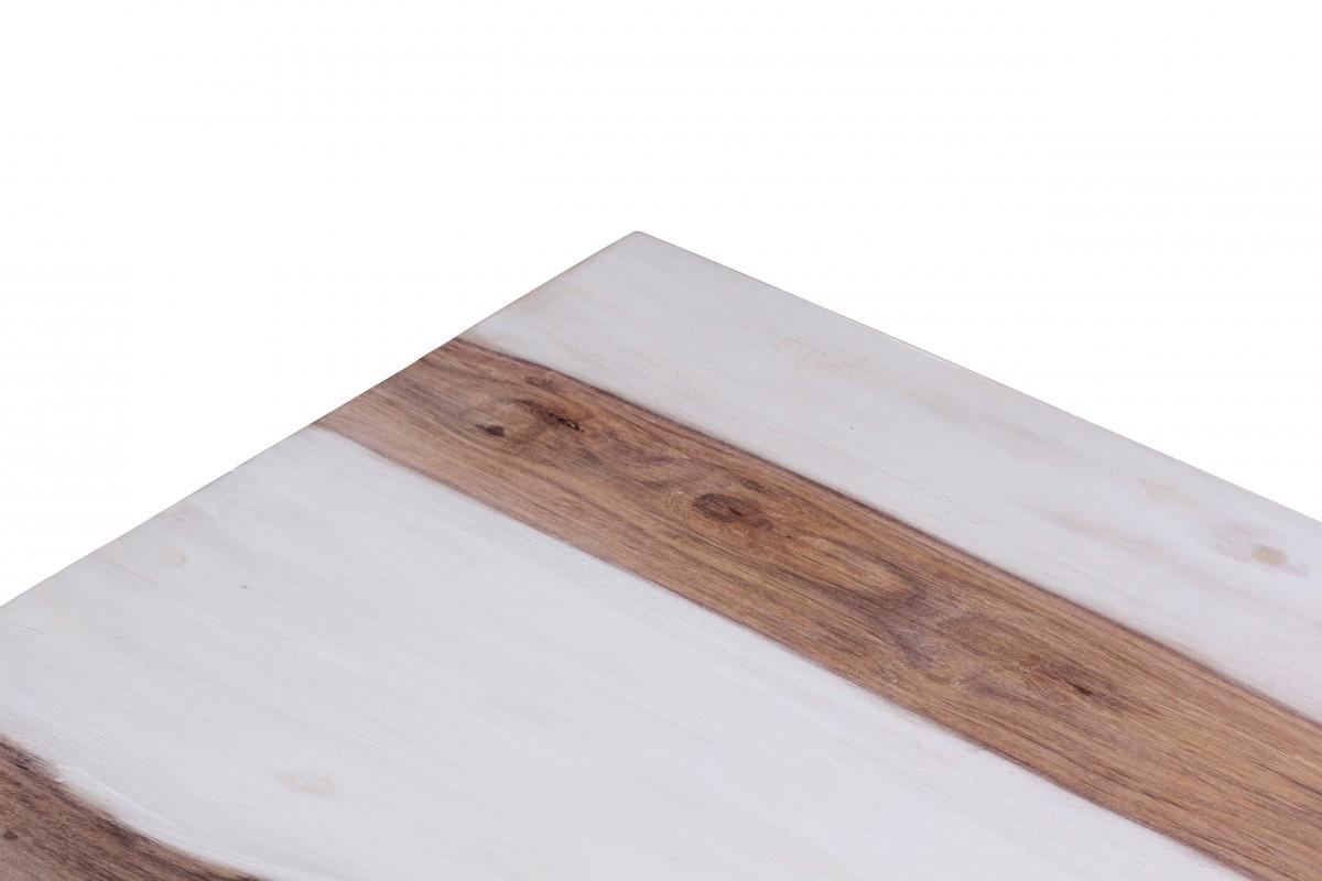 Wohnling sbiancato sheesham legno massello tavolino - Mobili in legno sbiancato ...