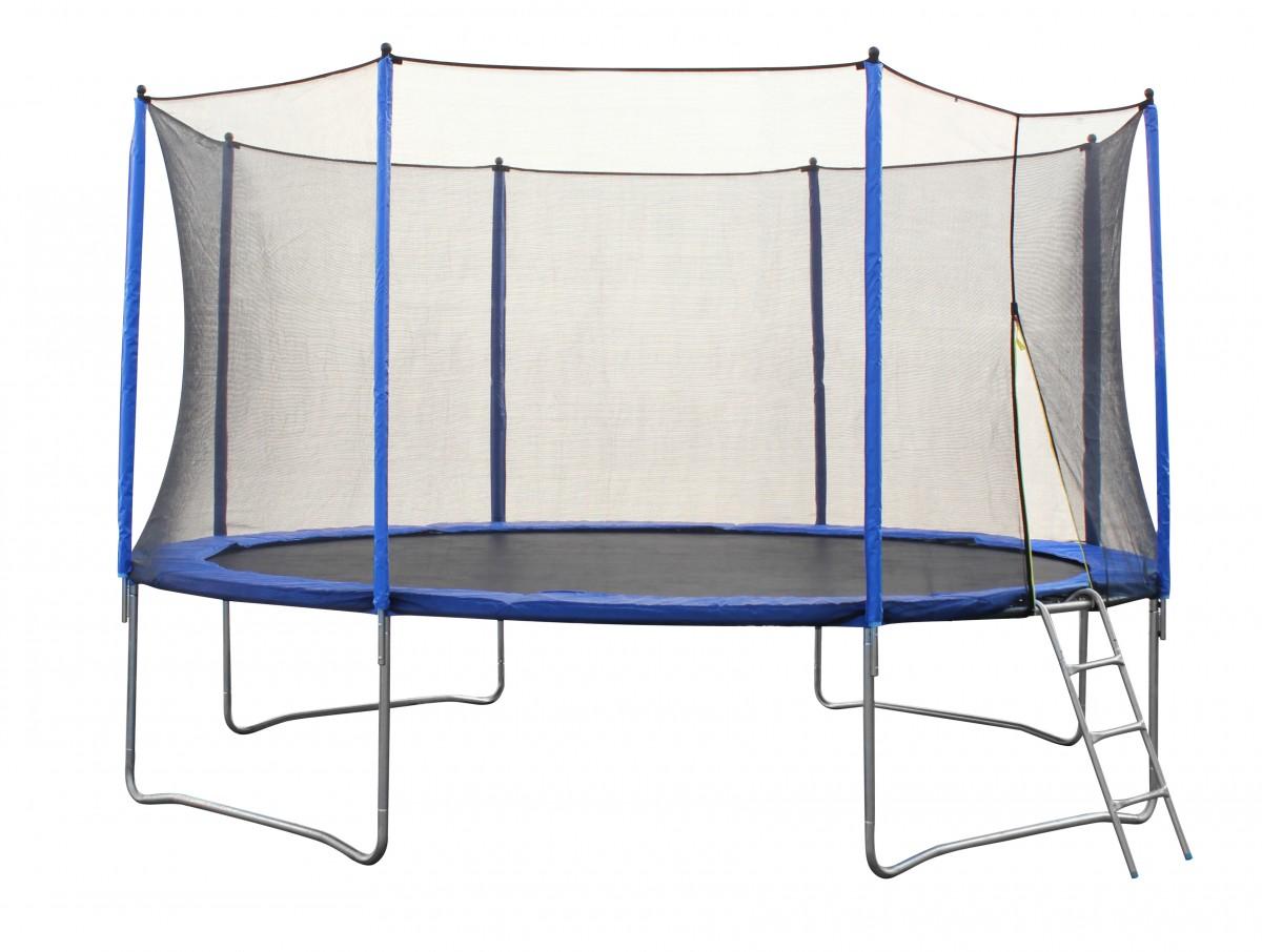 vavida trampoline 430 cm filet de s curit et chelle. Black Bedroom Furniture Sets. Home Design Ideas