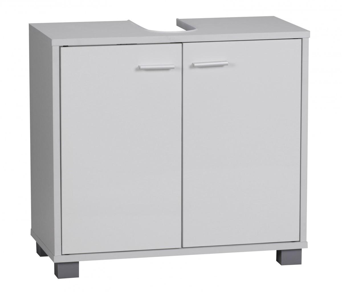 finebuy bad waschbecken unterschrank 60 x 55 x 30 cm 2 t ren kommode wei neu. Black Bedroom Furniture Sets. Home Design Ideas