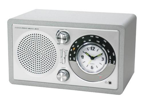 soundmaster modell ur121 uhrenradio design radiowecker uhr clock made in germany ebay. Black Bedroom Furniture Sets. Home Design Ideas