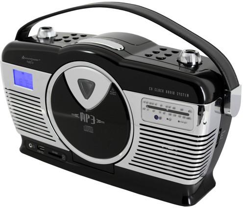 tragbares radio cd mp3 player mit usb sd neu kuli ebay. Black Bedroom Furniture Sets. Home Design Ideas