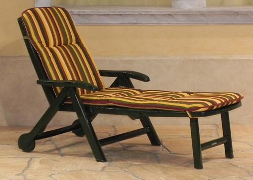 steiner ph nix gartenliege sonnenliege kunststoff roll liege gr n auflage neu ebay. Black Bedroom Furniture Sets. Home Design Ideas