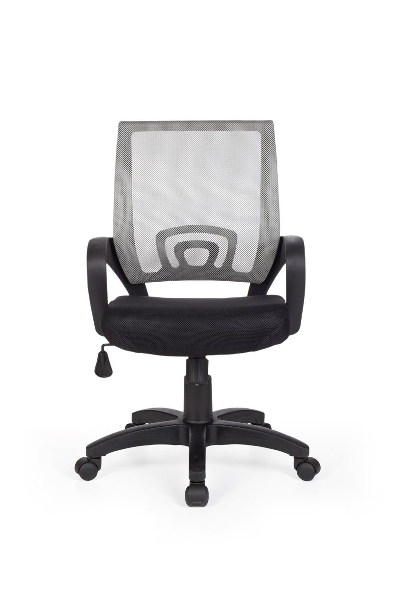 AMSTYLE RIVOLI EXECUTIVE OFFICE SWIVEL DESK CHAIR FABRIC MESH GREY NEW EBay