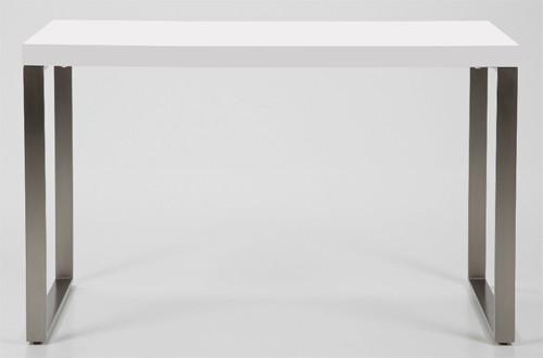 design schreibtisch 120 x 60cm b rotisch wei hochglanz neu ebay. Black Bedroom Furniture Sets. Home Design Ideas