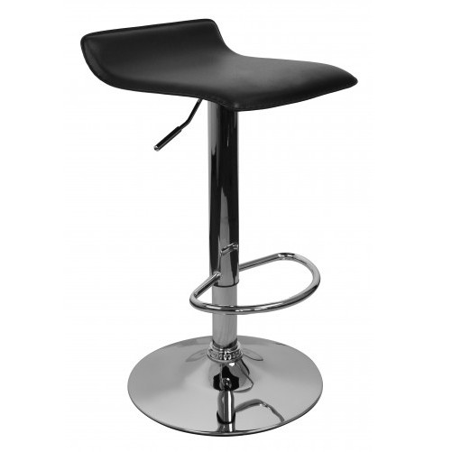 Amstyle ibiza design chaise de bar en simili cuir r glable - Chaise de bar reglable en hauteur ...