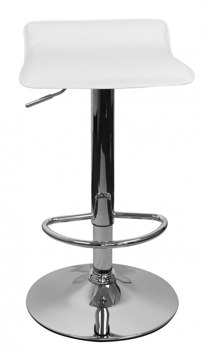 amstyle barhocker ibiza hocker bezug kunstleder wei h henverstellbar design barstuhl ohne. Black Bedroom Furniture Sets. Home Design Ideas