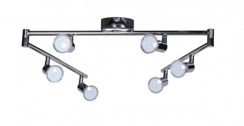 Finebuy 6er led strahler deckenleuchte spotsystem led for Led strahler deckenleuchte