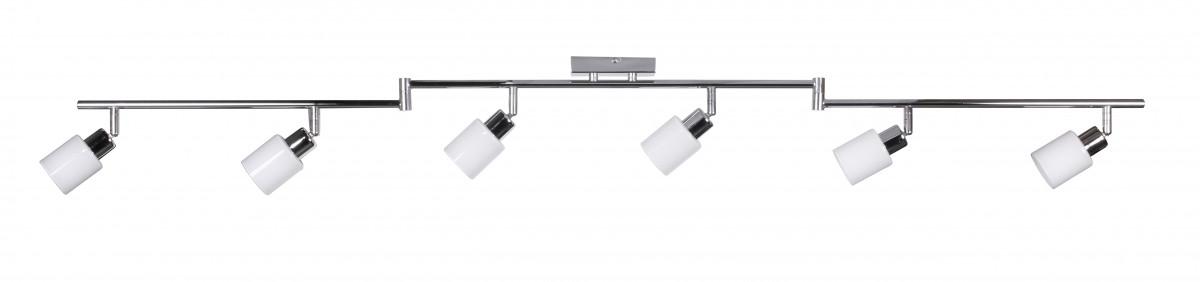 wohnling 6 flammig led deckenleuchte inkl leuchtmittel g9. Black Bedroom Furniture Sets. Home Design Ideas