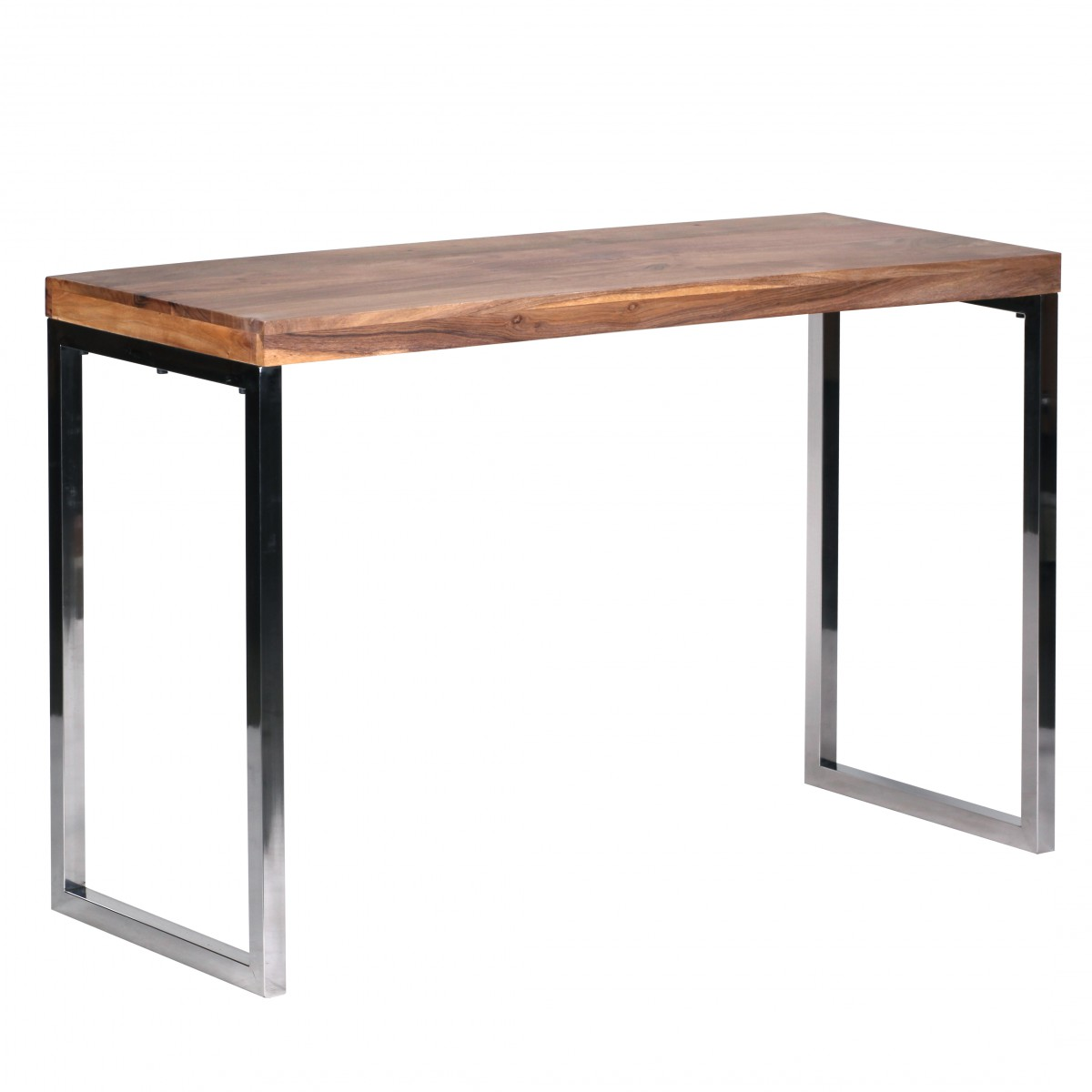 wohnling massivholz konsolentisch 120x45cm schminktisch computertisch akazie ebay. Black Bedroom Furniture Sets. Home Design Ideas
