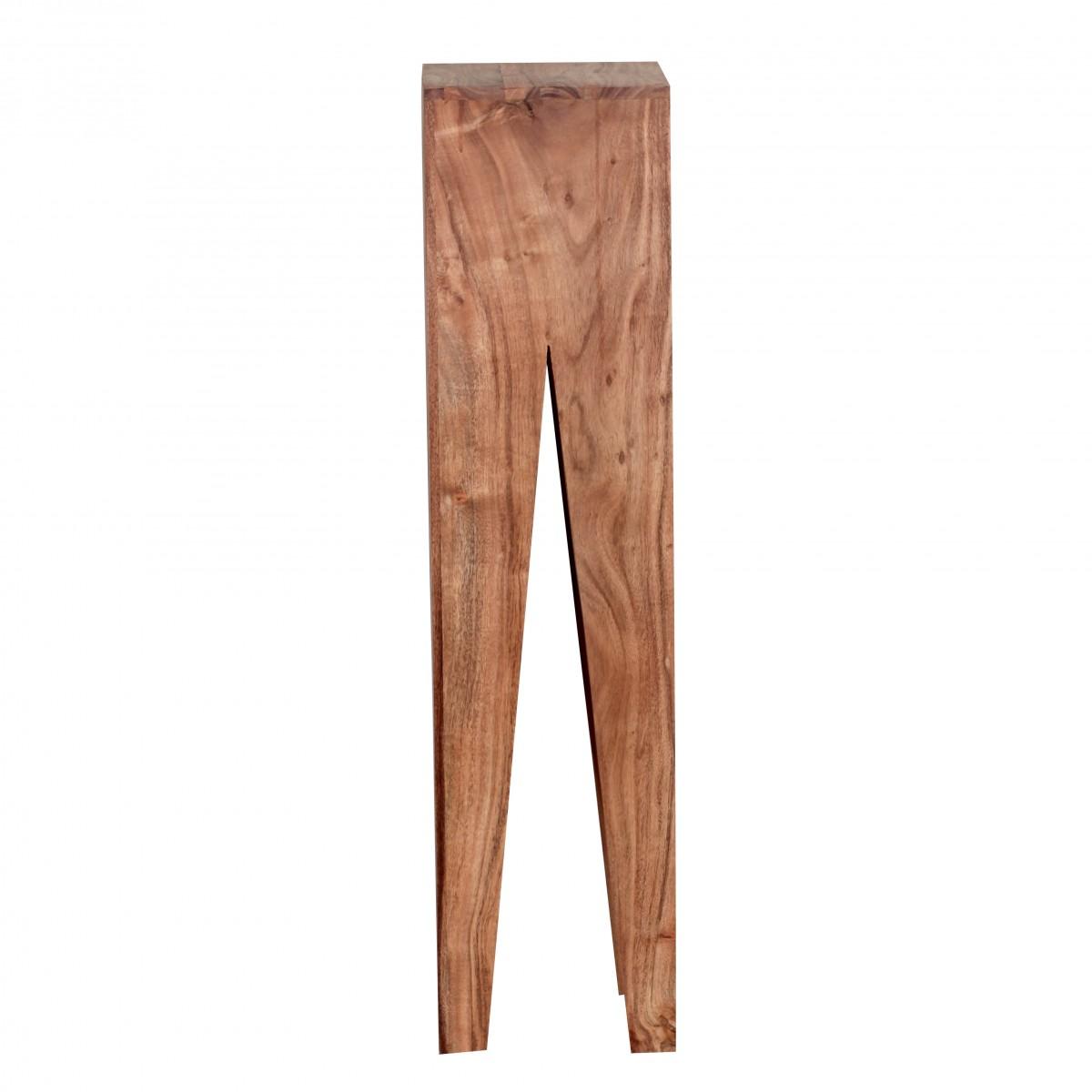 Wohnling akazie massivholz beistelltische 3er set for 3 beistelltische