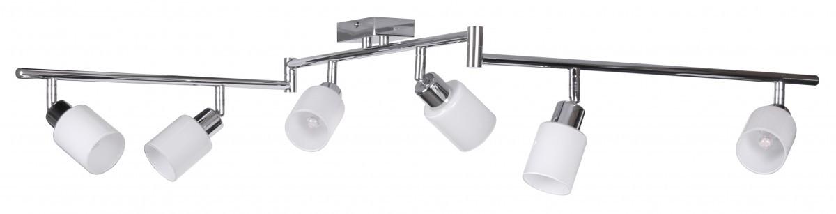 led deckenleuchte 6 flammig lampe strahler spot leuchte g9 licht neu eek a ebay. Black Bedroom Furniture Sets. Home Design Ideas