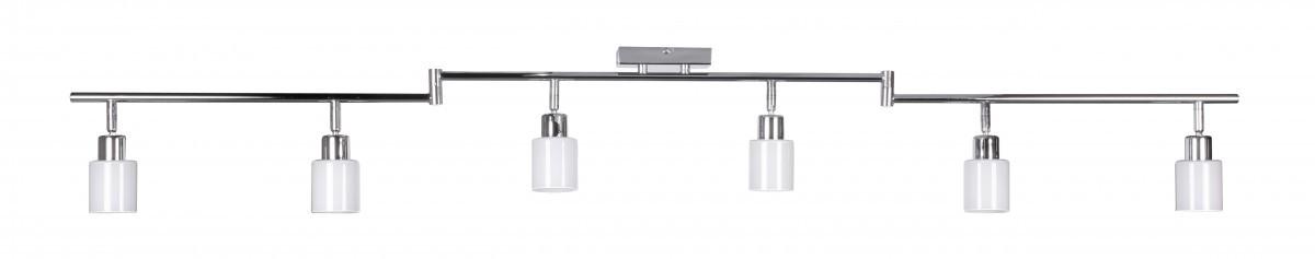 finebuy 6 flammig led deckenleuchte inkl leuchtmittel g9. Black Bedroom Furniture Sets. Home Design Ideas