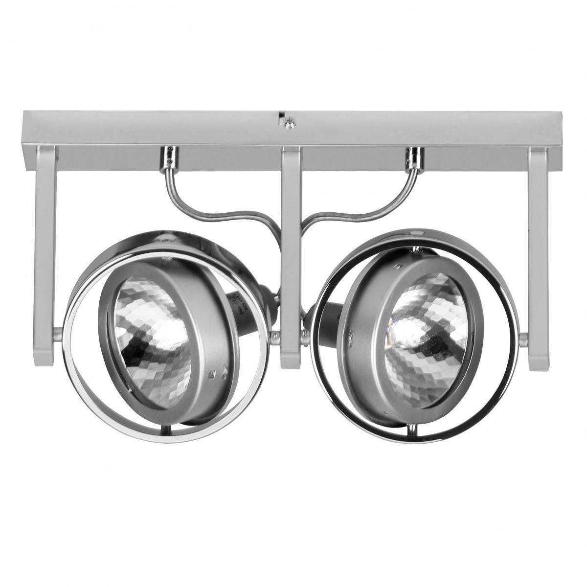 finebuy spot lampe 2 flammig deckenleuchte strahler spotsystem g9 52w eek c 40479. Black Bedroom Furniture Sets. Home Design Ideas