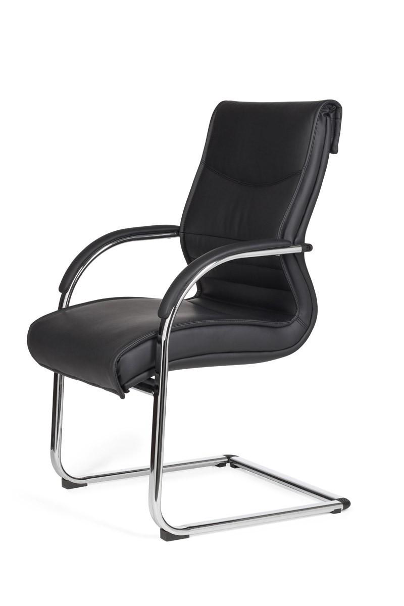 finebuy freischwinger milan besucherstuhl bezug kunstleder. Black Bedroom Furniture Sets. Home Design Ideas