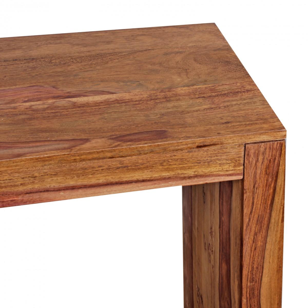 wohnling konsolentisch massivholz design konsole schreibtisch 115 x 40 cm landhaus stil arbeits. Black Bedroom Furniture Sets. Home Design Ideas