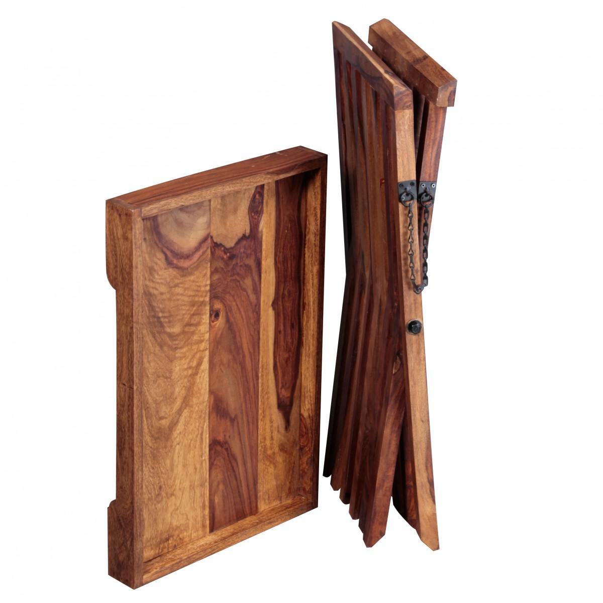 finebuy beistelltisch massivholz design klapptisch. Black Bedroom Furniture Sets. Home Design Ideas