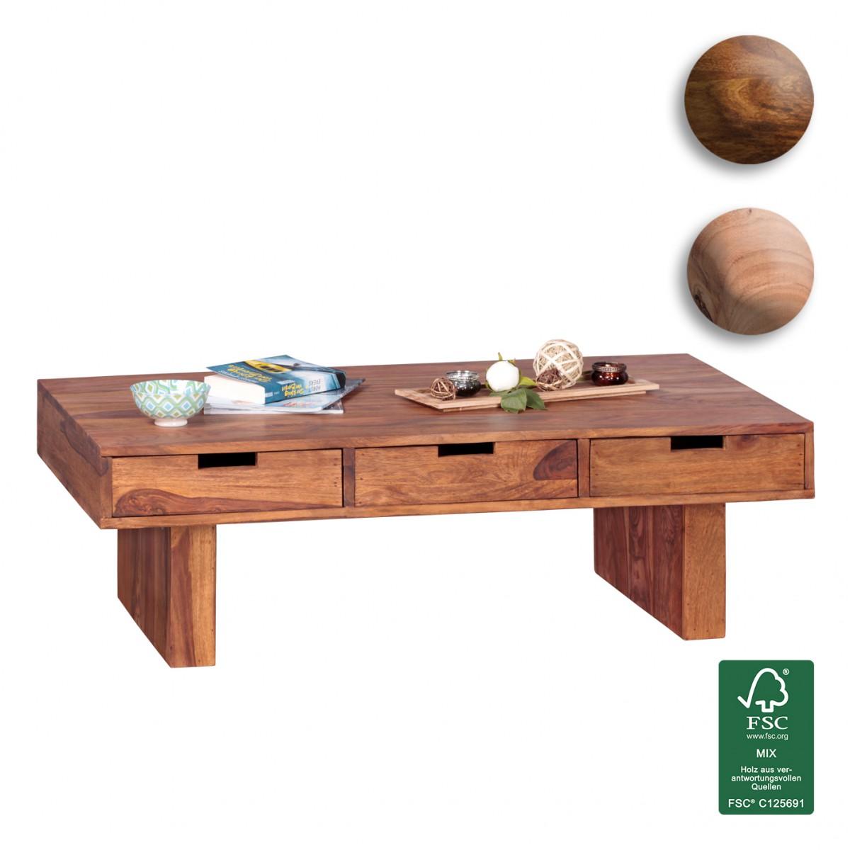 finebuy couchtisch massivholz design wohnzimmer tisch 110. Black Bedroom Furniture Sets. Home Design Ideas