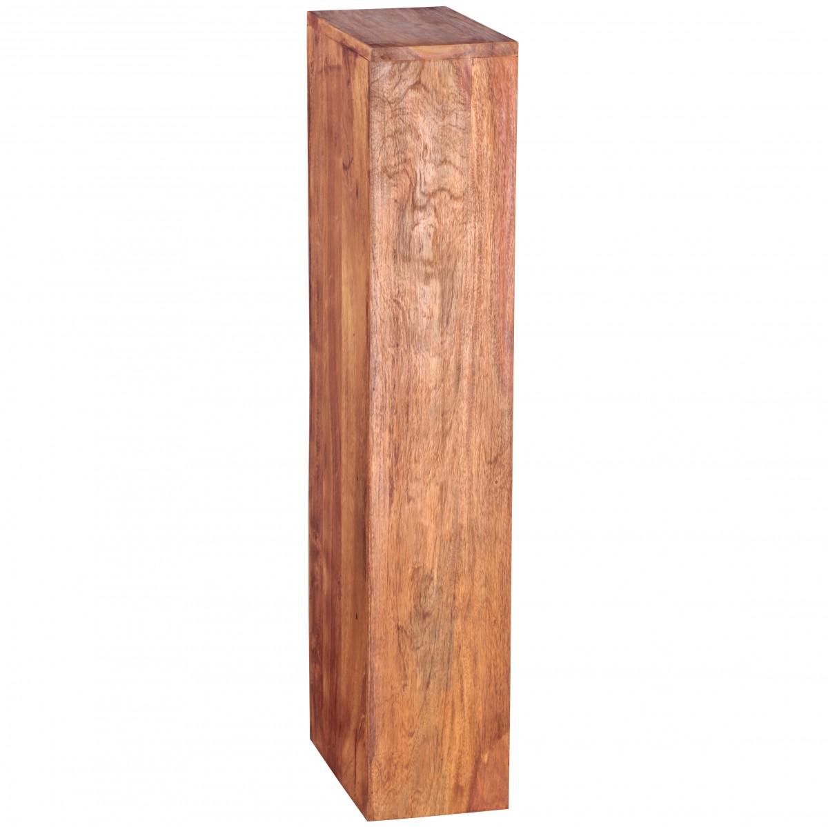 finebuy cd regal massivholz sheesham standregal 90 cm hoch. Black Bedroom Furniture Sets. Home Design Ideas