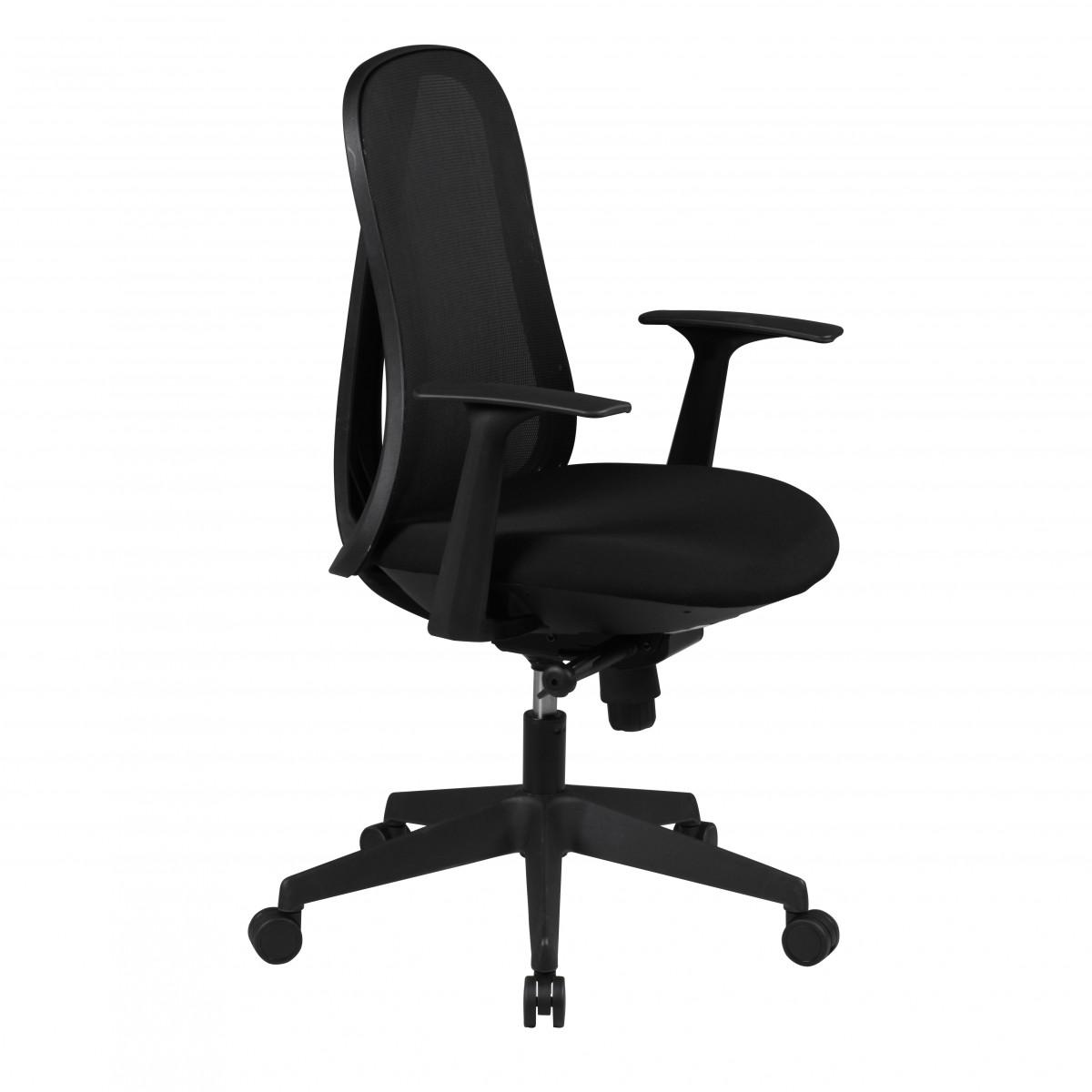 Finebuy silla de oficina cool mecanismo sincronizado silla for Silla escritorio diseno