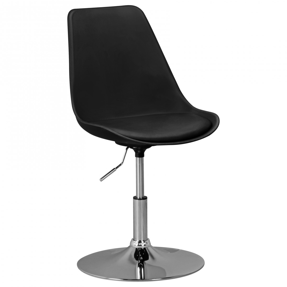 Finebuy hainan si ge tissu chaise pivotante pivotant for Chaise pivotante