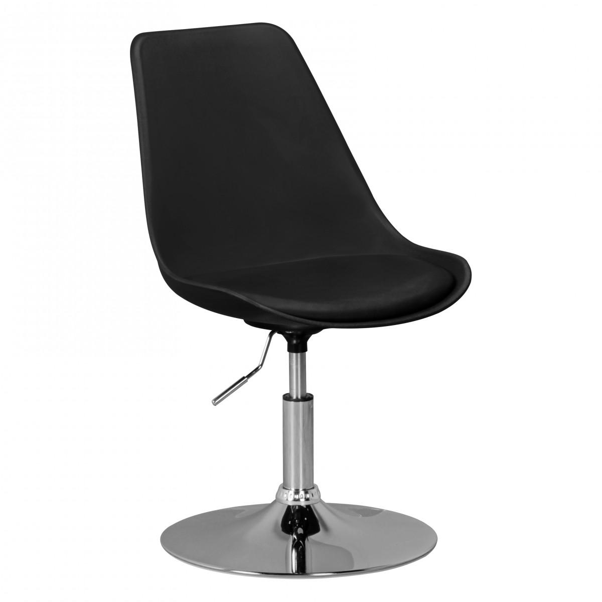 Finebuy hainan asiento giratorio de tela de la silla for Altura silla