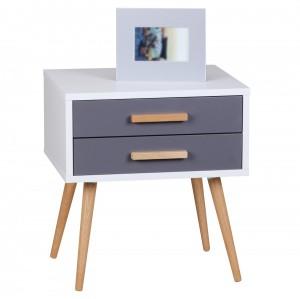 der nachttische online shop finebuy. Black Bedroom Furniture Sets. Home Design Ideas