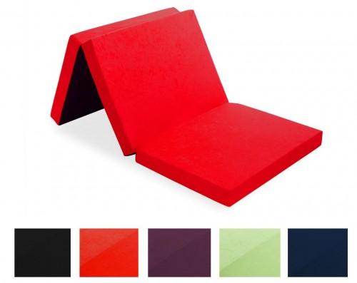 klappmatratze 190 x 80 x 9 cm aus schaumstoff mit tasche. Black Bedroom Furniture Sets. Home Design Ideas