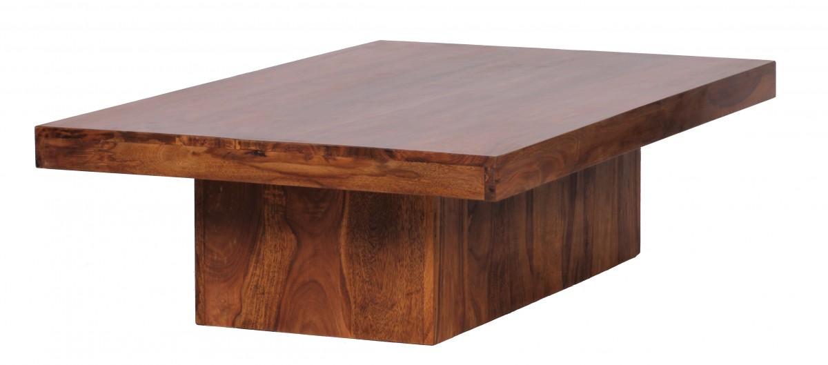 Wohnling sheesham couchtisch massiv 120 x 70 cm massivholz for Sheesham tisch
