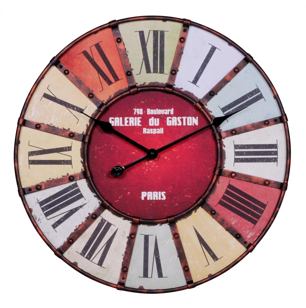 Relojes de pared del zodiaco de la vendimia