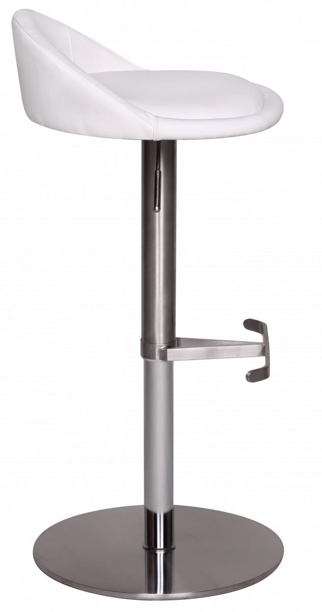 wohnling tabouret chaise de bar blanc neuf similicuir meuble fauteuil cuisine ebay