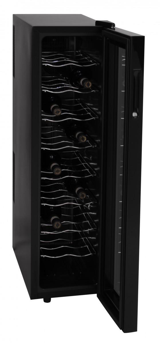 Amstyle Wine Beer 18 Bottle Refrigerator 53l Mini Bar