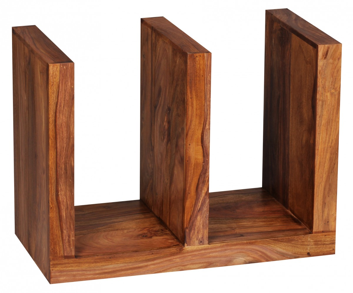 wohnling beistelltisch massivholz sheesham e cube 60cm. Black Bedroom Furniture Sets. Home Design Ideas