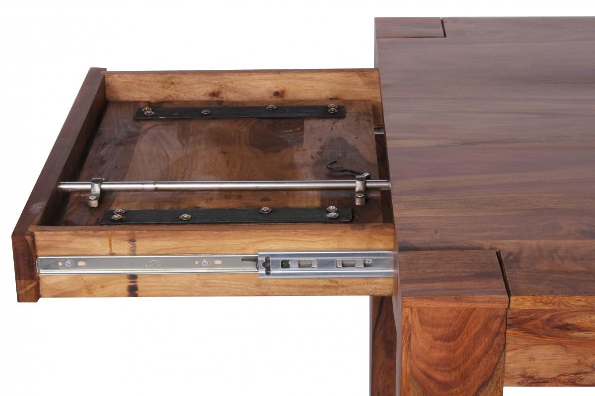 finebuy esstisch massivholz sheesham 160 240 cm. Black Bedroom Furniture Sets. Home Design Ideas