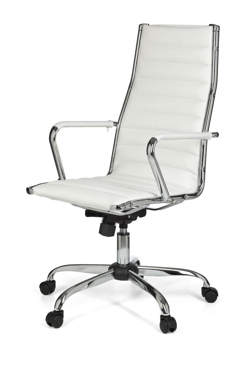 Design b rostuhl chefsessel drehstuhl stuhl wei for Schreibtischstuhl designklassiker