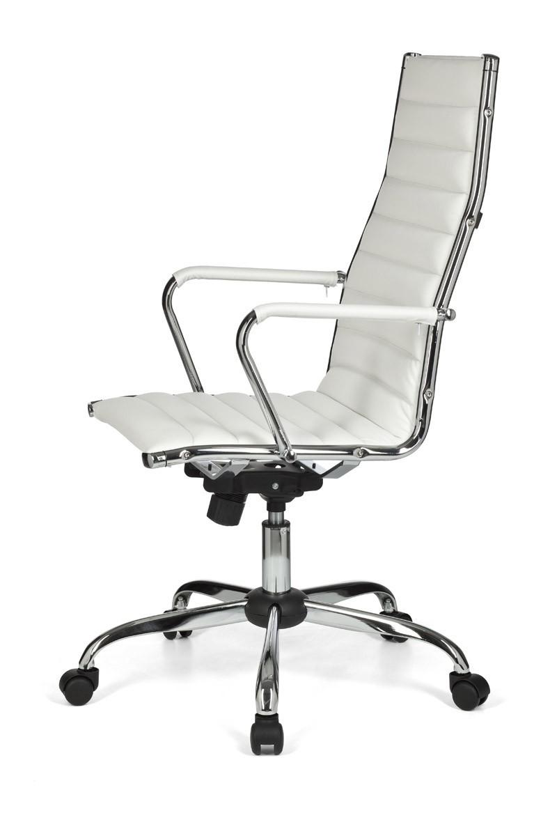 design b rostuhl chefsessel drehstuhl stuhl wei schreibtischstuhl sessel neu ebay. Black Bedroom Furniture Sets. Home Design Ideas